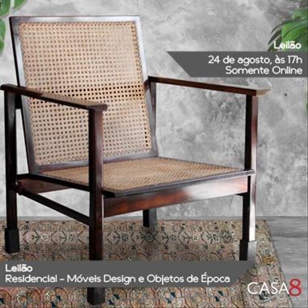 Leilão Residencial - Móveis Design e Objetos de Época