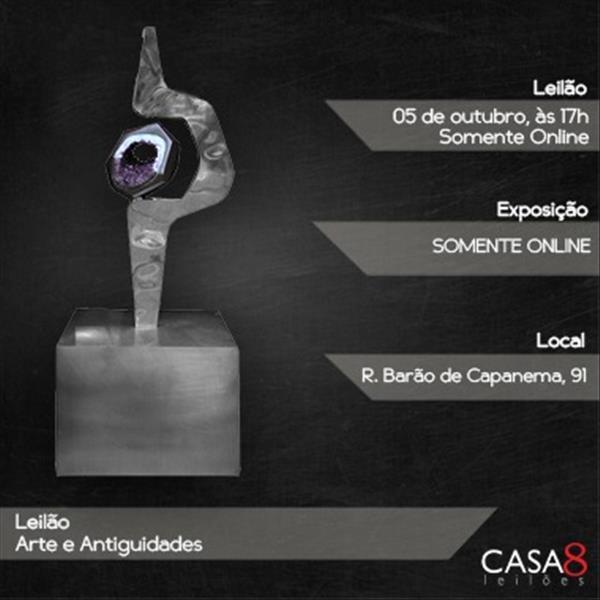 000253 - 000253 - Leilão Arte e Antiguidades - 05/10/2020