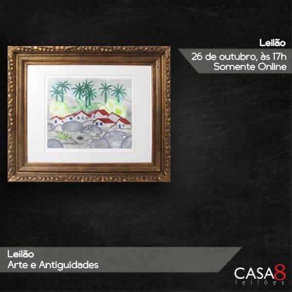 000254 - Leilão Arte e Antiguidades - 26/10/2020