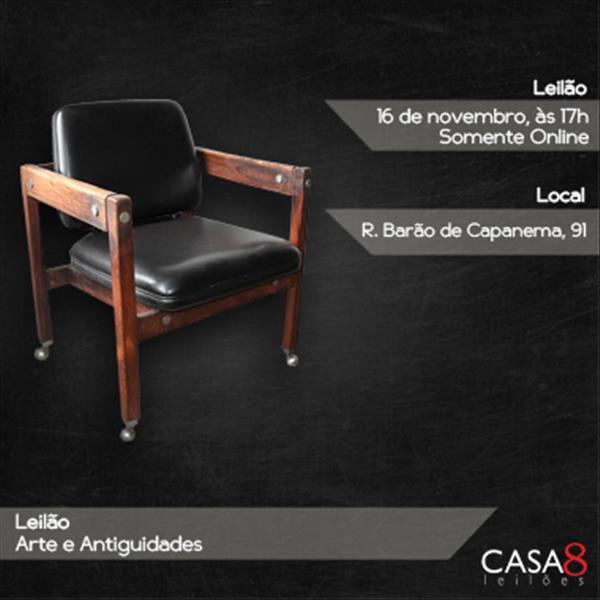 000255 - Leilão Arte e Antiguidades - 16/11/2020