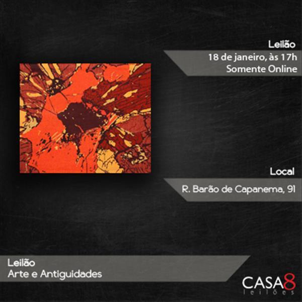 000257 - 000257 - Leilão Arte e Antiguidades - 18/01/2021